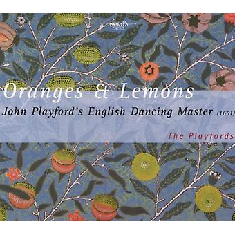 Playfords - Oranges & citroner-den engelske [CD] USA importerer