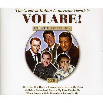 Volare! de største italiensk/amerikanske sangere - Volare! den største italiensk/amerikanske sangere [CD] USA importerer
