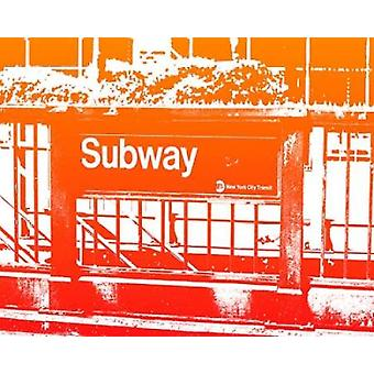 SUBWAY Poster Print by Taylor Greene