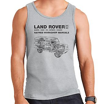 Хейнс Семинар Руководство Land Rover Черный Мужчины'apos;s Вест