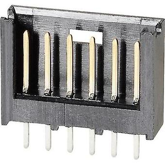 Pin strip (standard) AMPMODU MOD II Total number of pins 9 TE Connectivity 280508-1 Contact spacing: 2.54 mm 1 pc(s)