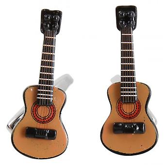 Zennor Acoustic Guitar gemelli - marrone/nero