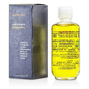 Aveda Men Pure-Formance Composition Aromatic Oil (For Scalp, Hair and Body) 50ml/1.7oz