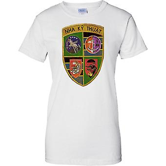 ARVN Special Forces MACV - Nha Ky Thuat - Vietnam War - Ladies T Shirt