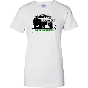 US Army Humvee - Legendary Military Vehicle -  - Ladies T Shirt