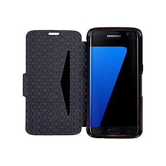OtterBox Strada Samsung Galaxy S7 edge Folding case for mobile phone-leather-onyx-for Samsung Galaxy S7 edge