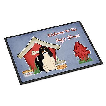 Hunden Hound huset samling sveitsiske innendørs eller utendørs Mat 18 x 27