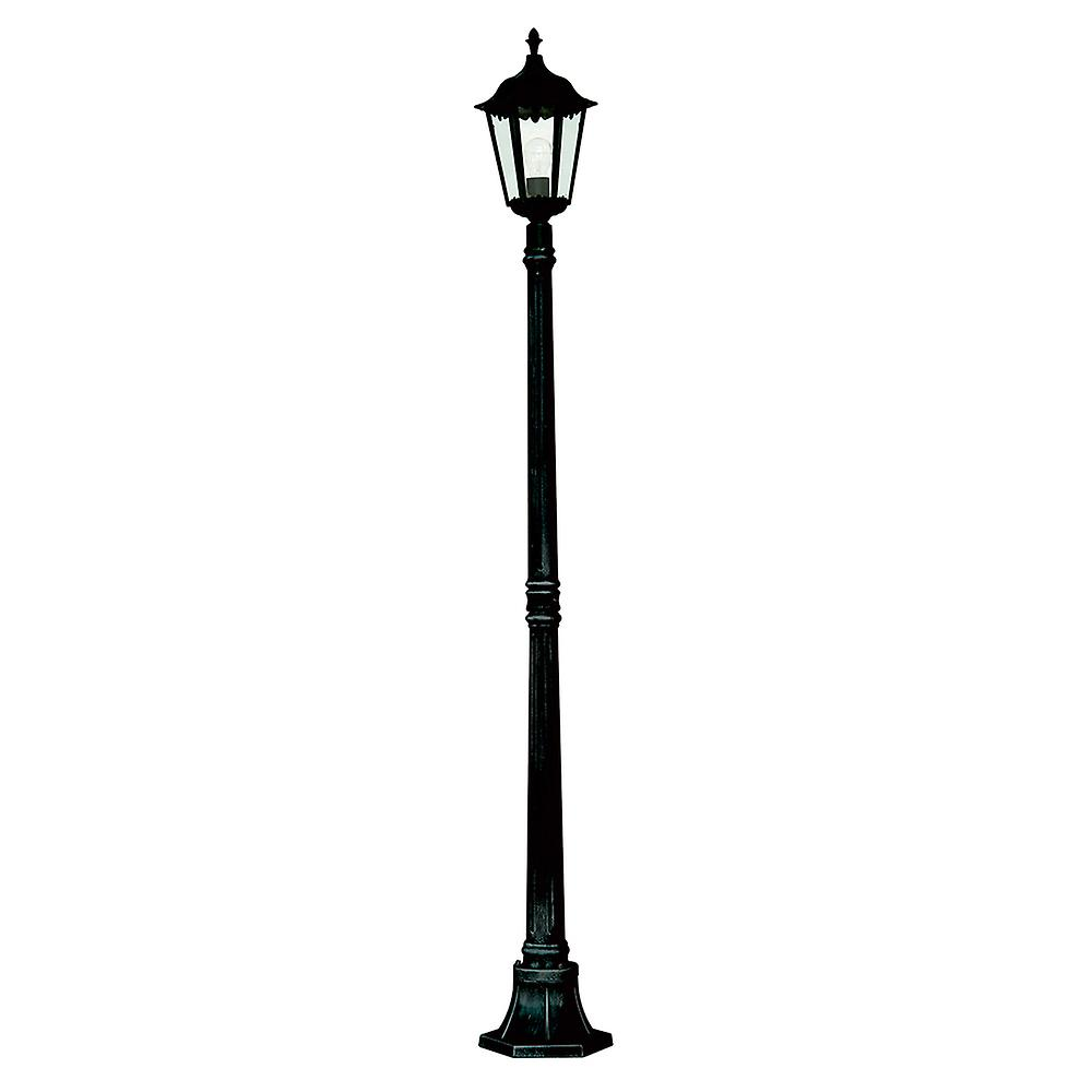 Searchlight 82508BK Alex 1 Light Outdoor Lamp