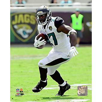 Leonard Fournette 2017 Action Photo Print