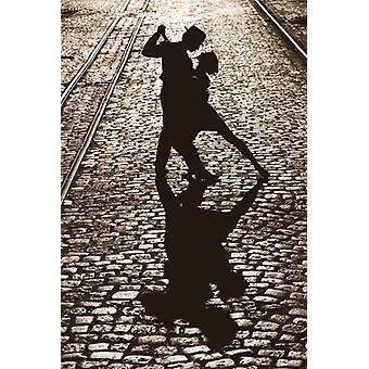Den sidste dans plakat plakat Print