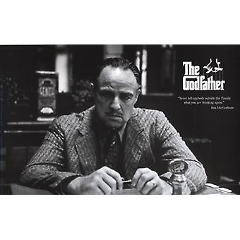 Godfather - The Family Poster Poster Print