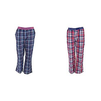 Forever Dreaming Womens/Ladies Checked Pyjama Bottoms