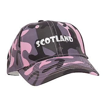 Mesdames/Womens Ecosse brodé casquette Camouflage