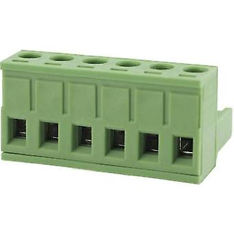 Pin enclosure - cable Total number of pins 6 Degson 2EDGK-5.0-06P-14-00AH Contact spacing: 5.0 mm 1 pc(s)