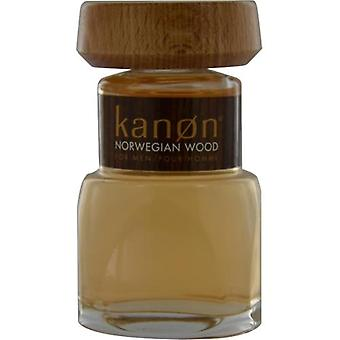 Kanon Norwegian Wood By Scannon Aftershave 3.3 Oz (Unboxed)
