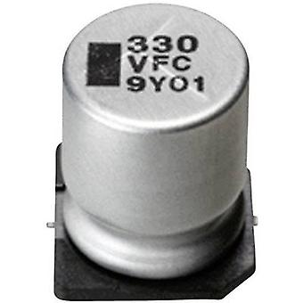 Electrolytic capacitor SMD 220 µF 35 V