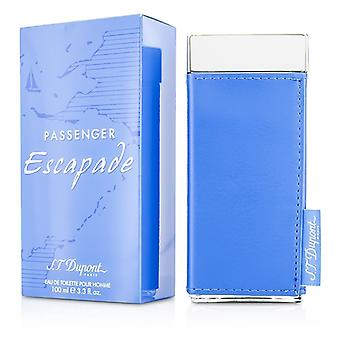 S. T. Dupont passager Escapade Eau De Toilette Spray 100ml / 3,3 oz