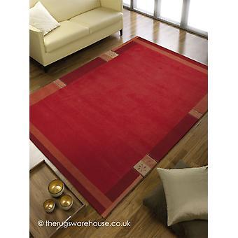 Manali Red tæppe