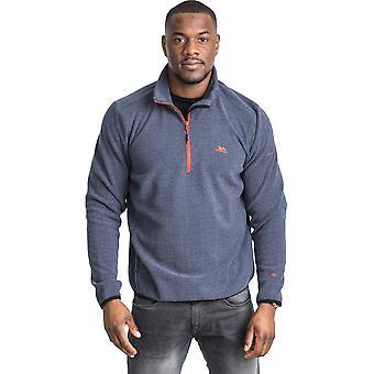 Trespass Mens Limber Half Zip Outdoor Walking Fleece Jacket Top