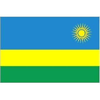 Rwandas flagg 5 ft x 3 ft