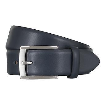 LLOYD Men's Belts Gürtel Herrengürtel Ledergürtel Marine/Blau 5012