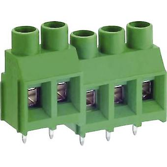 DECA MB912-762M02 Screw terminal 5.26 mm² Number of pins 2 Green 1 pc(s)
