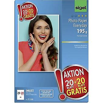 Fotopapir Sigel foto papir Everyday HOT DEAL T1155 A4