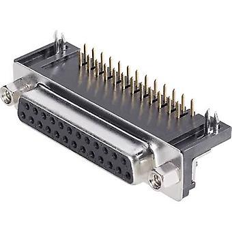 Récipients de BKL électronique 10120041 SUB-D 90 ° nombre de broches: 9 imprimer (angle droit) 1 PC (s)