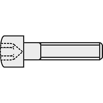 TOOLCRAFT 839668 Allen screws M3 8 mm Hex socket (Allen) DIN 912 ISO 4762 Steel 8.8. grade black 100 pc(s)