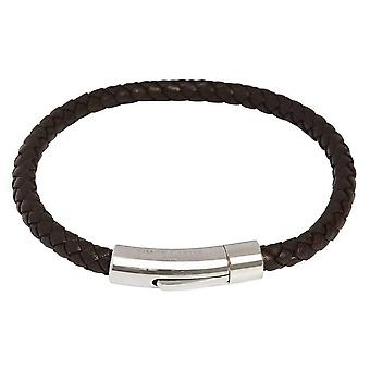 Simon Carter Thin Woven Bracelet - Brown