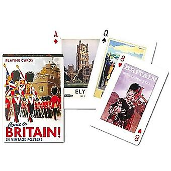 Come To Britain Set Of Playing Cards + Jokers