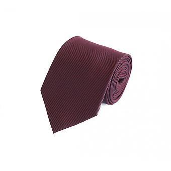 Knytte slips slips slips 8cm vin røde uni Strip struktur Fabio Farini