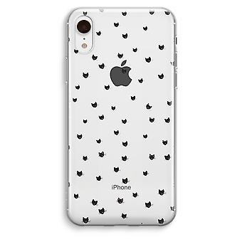 iPhone XR Transparant Case - Little cats