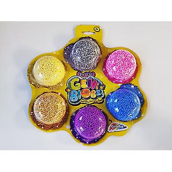 Sparkle Gelli Blobz Squishy Fun Pack Of Six