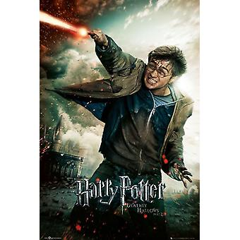 Harry Potter and the Deathly of Hallows 2 poster Harry Potter (Daniel Radcliffe).