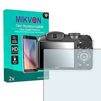 Fujifilm FinePix S2980 Screen Protector - Mikvon Clear (Retail Package with accessories)