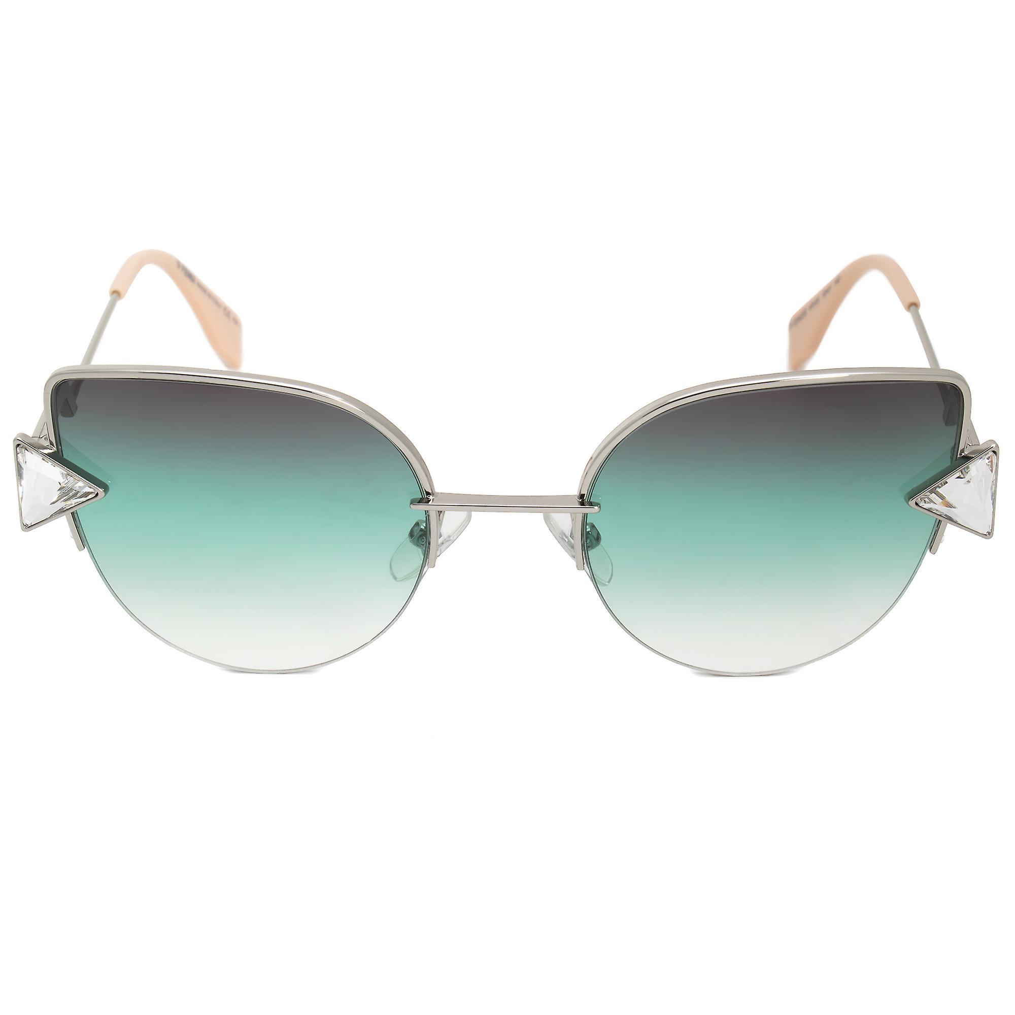 Fendi Rainbow Cat Eye Sunglasses FF0242S VGV QC 52