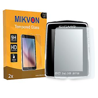 Sigma BC 14.16 STS Screen Protector - Mikvon flexible Tempered Glass 9H (Retail Package with accessories)