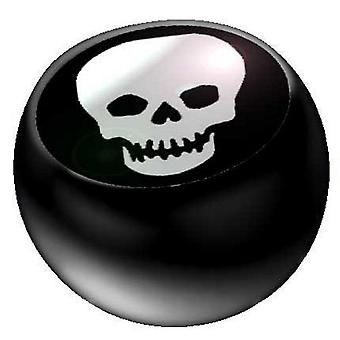 Piercing Replacement Ball Black, Body Jewellery, Skull | 1,6 x 5 and 6 mm