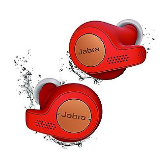 Jabra Elite Active 65t True Wireless Bluetooth Earbuds with Charging Case and One-Touch Amazon Alexa - Copper Red