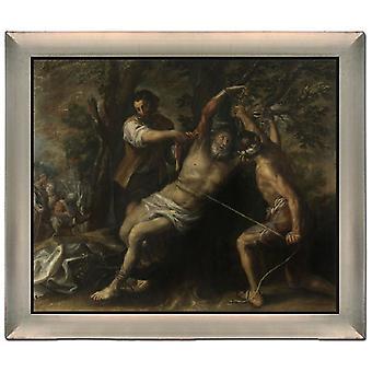 Het martelaarschap van St. Bartholomeus, Francisco Camilo, 61x51cm