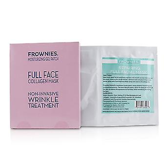 Frownies Full Face Collagen Mask - Moisturizing Gel Patch - 1sheet