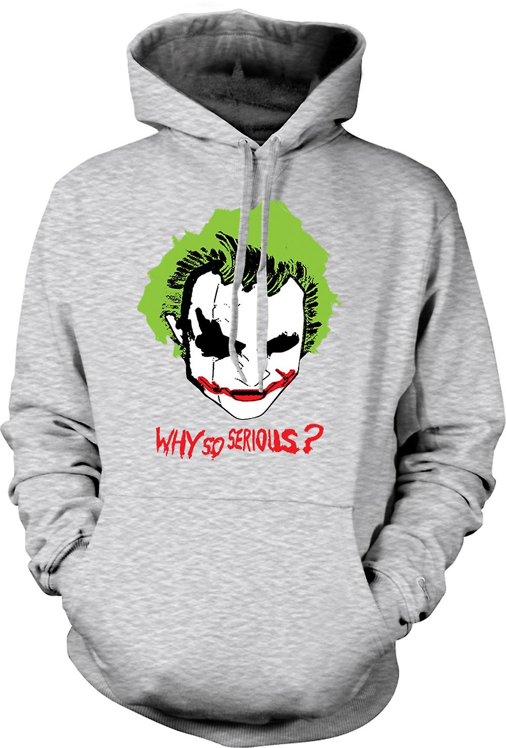 Mens Hoodie - Batman Why So Serious