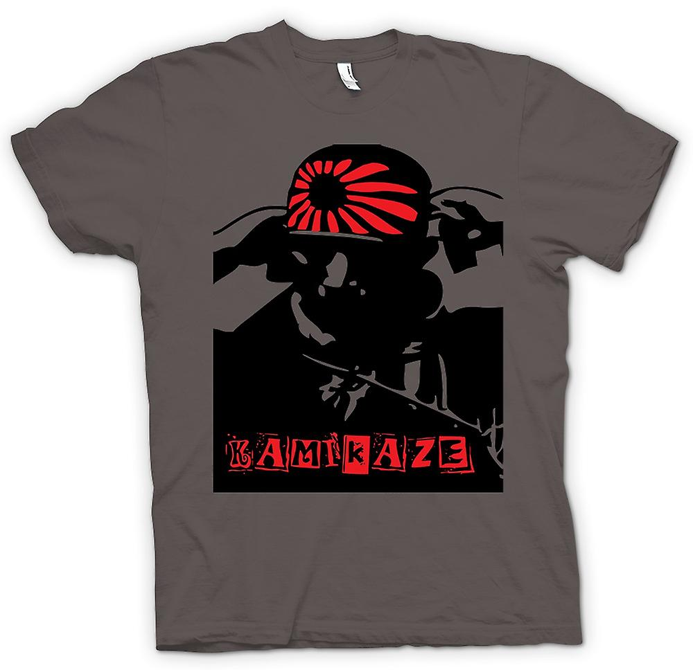 Womens T-shirt - Kamikaze Japanese - WW2 War