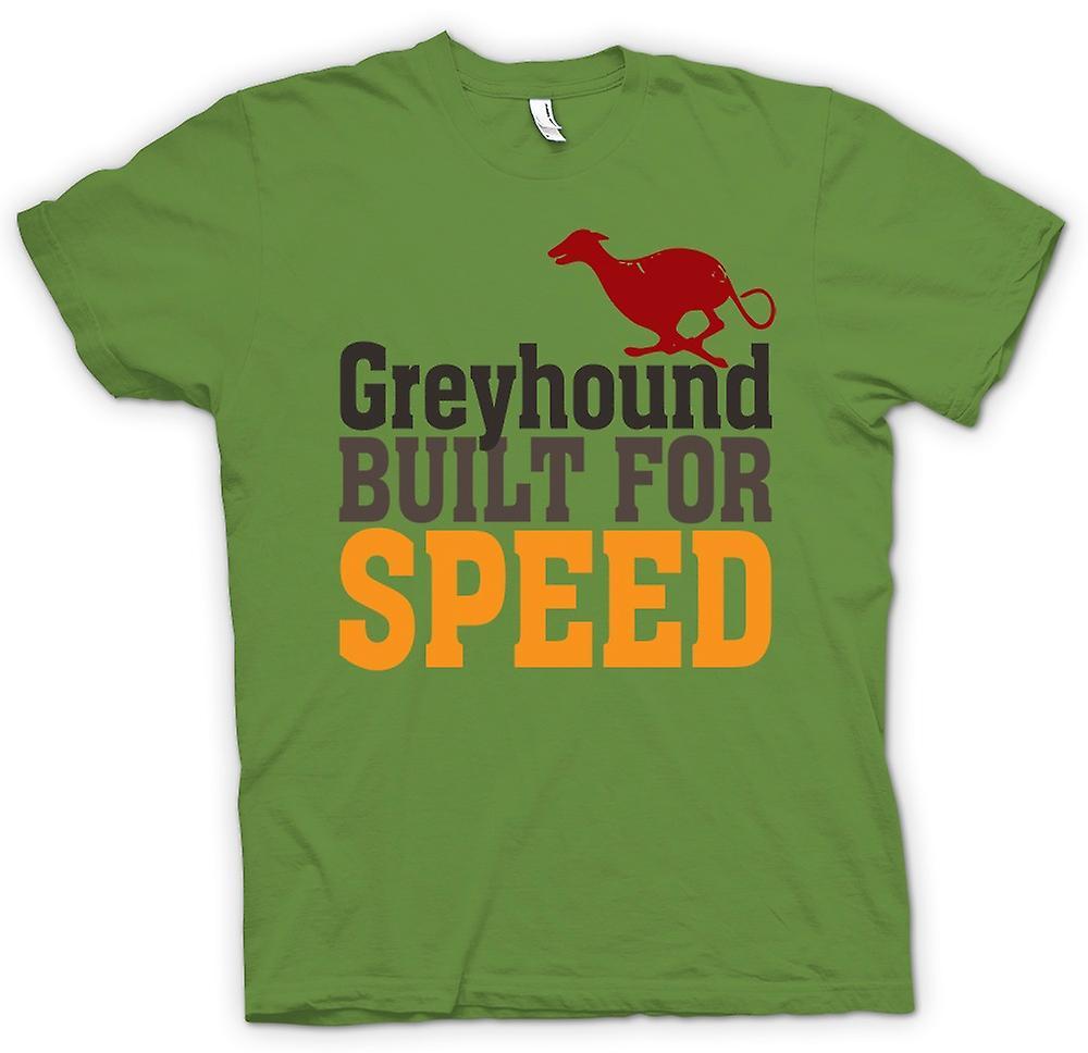 Hombres camiseta-Galgo construida para la velocidad