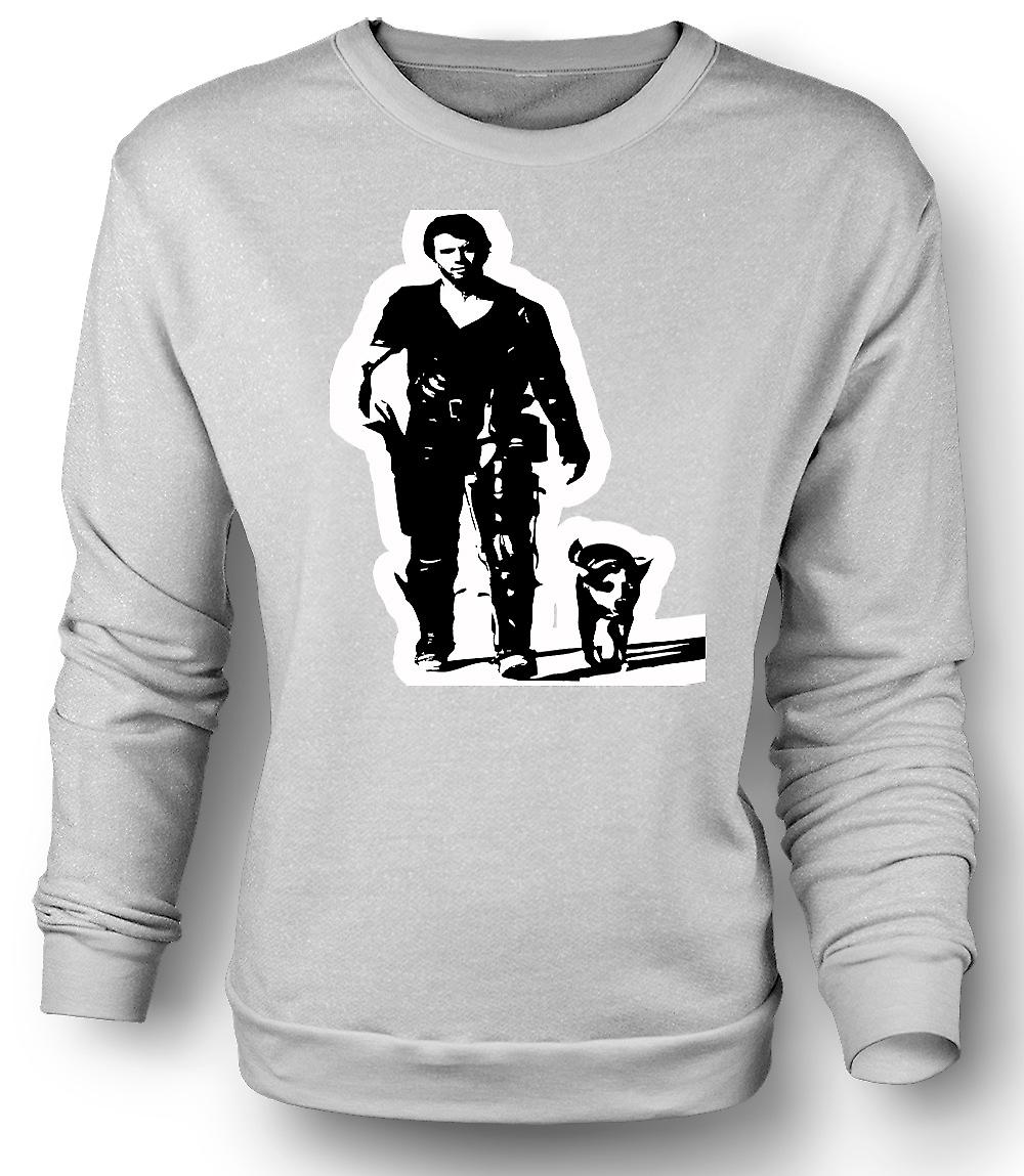 Mens Sweatshirt Mad Max - BW - Cult