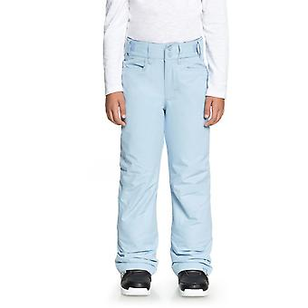 Roxy Powder Blue Backyard Girls Snowboarding Pants