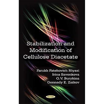 Stabilisierung und Modifikation von Zellulose-Diacetat