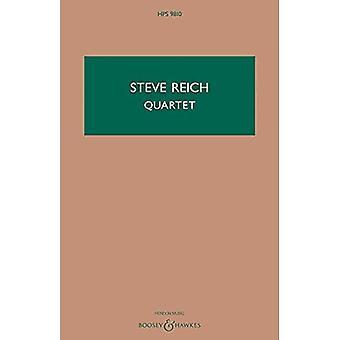 Quartet for 2 Vibraphones and 2 Pianos - Study Score