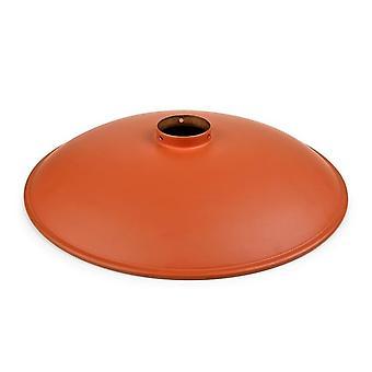 Vintage Orange Metal Shade - Grok 71-4821-CU-CU